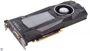 כרטיס מסך מסוג Titan X השייך לחברה NVIDIA