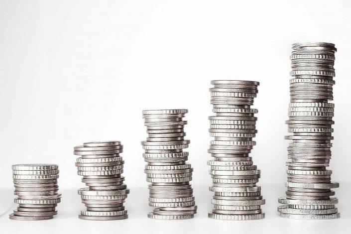 מטבעות כסף ערומים