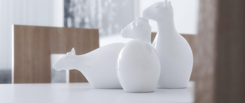 הדמית תקריב של פסלון כבשים  עם ויריי לסקצ'אפ