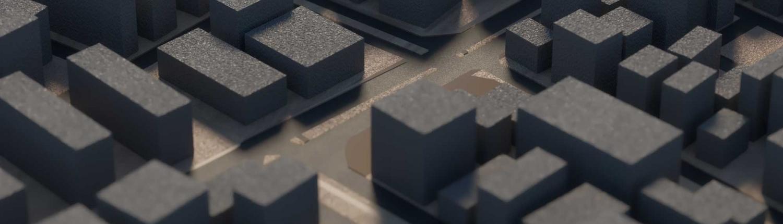 מודל עירוני תלת ממדי מבית ISRAEL3D