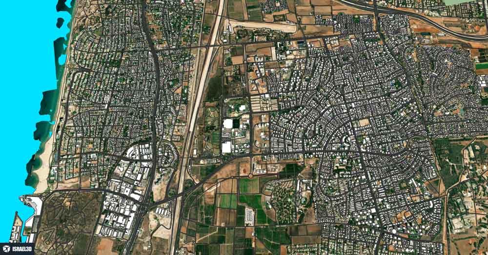 herzliya_city_3d_model_by_ISRAEL3D